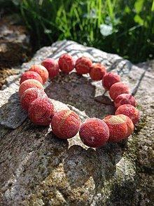 Náramky - Hubový koral natur - náramok - 10986985_