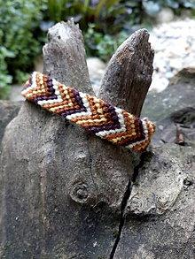 Náramky - Pletený náramok 20 - 10986008_
