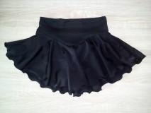 Detské oblečenie - Sukňa na krasokorčuľovanie - 10986345_