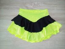 Detské oblečenie - Sukňa na krasokorčuľovanie - 10986359_
