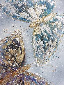 Obrazy - motýle - 10986312_