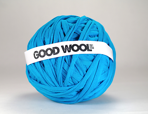 Tričkovlna AJ NA RÚŠKA... Modrá tyrkysová (bambus)
