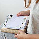 "Papiernictvo - Drevený receptár ""Recipe Book"" - 10985918_"