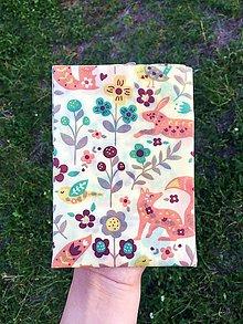 Úžitkový textil - Voskovaný obrúsok EkObal- Líščia lúka - 10988050_