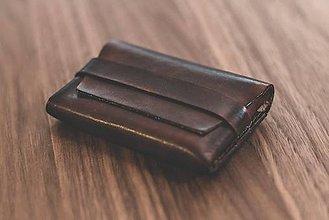 Peňaženky - Kožená minimalistická peňaženka - 10988031_