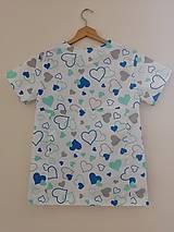 Košele - Zdravotnícka košeľa Mery - 10986005_