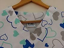 Košele - Zdravotnícka košeľa Mery - 10986026_