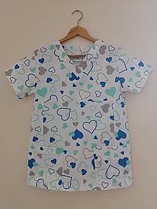 Košele - Zdravotnícka košeľa Mery - 10986004_