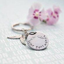 Kľúčenky - kľúčenka s venovaním - 10986896_