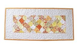 """Úžitkový textil - Obrus - štóla """"Žlté zruby"""" - 10990135_"""