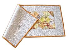 """Úžitkový textil - Obrus - štóla """"Žlté zruby"""" - 10990140_"""