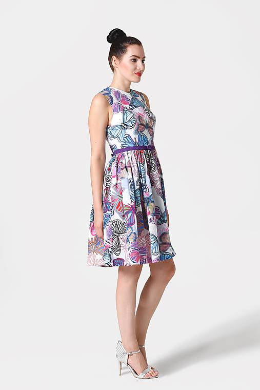 Šaty - Šaty Motýľe - 10988360_