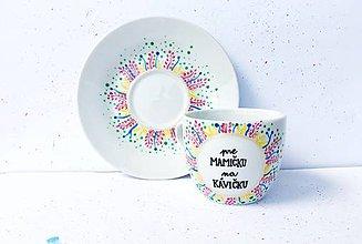 Nádoby - Pre mamičku na kávičku - ružový svet - 10991015_