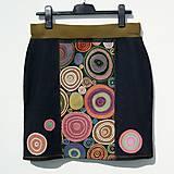 Sukne - Dámská sukně Colouring - 10988548_