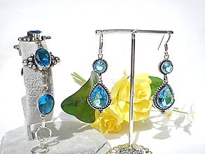 Sady šperkov - Sada šperkov/striebro Ag 925 - 10990420_