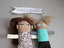 Magnetky - Babka a Dedko - 10990427_