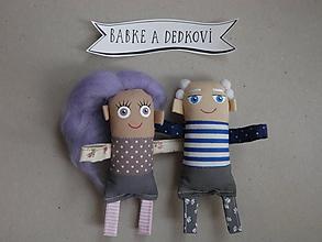 Magnetky - Babka a Dedko - 10990412_