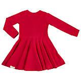 Detské oblečenie - Šaty red dlhý rukáv - 10989536_