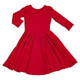Šaty - Dámske šaty - red 3/4 rukáv - 10989561_