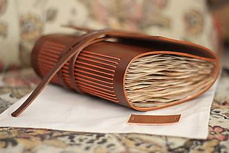 Papiernictvo - Kožený zápisník HUALALAI - 10990611_