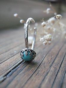 Prstene - Tyrkenitový s patinou - 10988215_