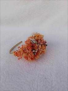 Ozdoby do vlasov - Kvetinová čelenka - 10990853_