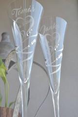 Nádoby - Svadobné čaše - 10991163_