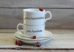 Nádoby - Pán a Pani kávičkári - 10989719_