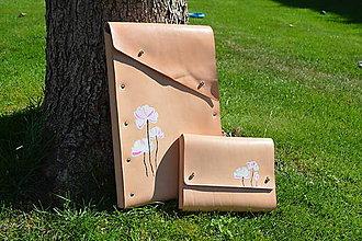 Na notebook - Kožené puzdro na notebook - 10990114_