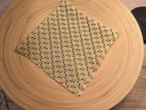 Úžitkový textil - Voskuľka - VRTUĽKY (16 cm x 17 cm) - 10991084_
