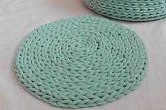 Handmade háčkovaná podložka pod hrniec/tanier  (Podložka)