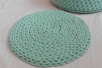 Úžitkový textil - Handmade háčkovaná podložka pod hrniec/tanier - 10990195_