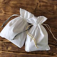 Úžitkový textil - bavlnené vrecká na bylinky - 10990498_