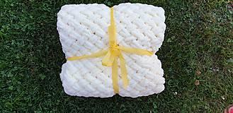 Textil - Háčkovaná deka - 10990663_