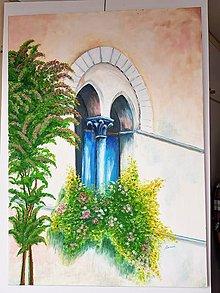 Obrazy - Hradné okno - 10989282_