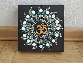 Obrazy - Mandala ÓM - 10990308_