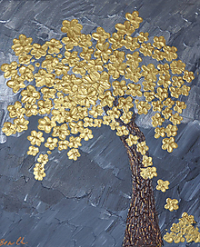 Obrazy - Zlatý strom / The Golden Tree - 10988956_