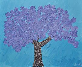 Obrazy - Jacaranda strom - 10989069_