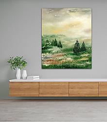 Obrazy - V prírode, 100x120 - 10990508_