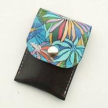 Taštičky - Kožené pouzdro s malbou na manikúru - 10990821_