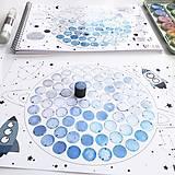 Hračky - PUNTÍKOVÁNKY . planety s ilustracemi . - 10991101_