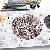 Hračky - PUNTÍKOVÁNKY . planety s ilustracemi . - 10991107_