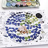 Hračky - PUNTÍKOVÁNKY . planety s ilustracemi . - 10991114_