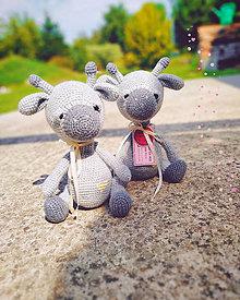 Hračky - Žirafiatko Bono - 10992541_