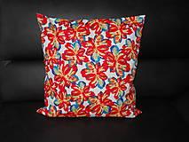 Úžitkový textil - Návlek na vankúš - Listy - 10993625_