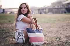 Veľké tašky - Taška Melody Stripes - 10992705_