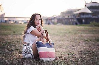 Veľké tašky - Taška Melody Stripes - 10992696_