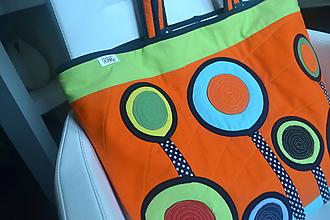 Veľké tašky - Veľká šitá taška (1) - 10993672_