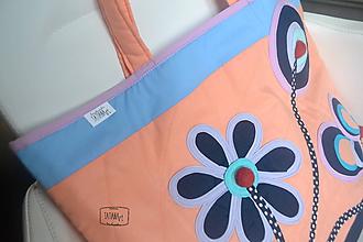 Veľké tašky - Veľká šitá taška  (2) - 10993752_