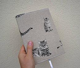 Papiernictvo - Mačky...zápisník A5 - 10993932_
